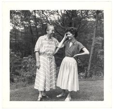 Doris Dana y Gabriela Mistral