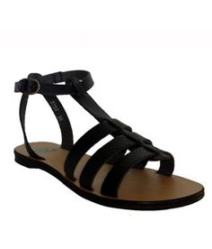 NAE Doria Vegan Sandals in Black are boho chic and 100% cruelty-free!