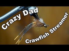 (39) Crazy Dad - Under Water Footage! - McFly Angler Fly Tying - YouTube