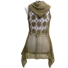 Crochet Sweater: Crochet Circle Vest Pattern - Chic Vest