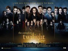 Poster de la Saga Twilight Au Complet !
