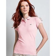 81d23376163de Light Pink Lacoste Polo Brand new with tags never worn Lacoste polo t shirt  Lacoste Tops