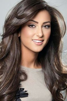 cool dark brown hair colour - Google Search