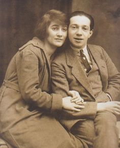 Blandine Ebinger und Friedrich Hollaender