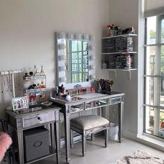 Decor, Table, Mirror, Vanity Mirror, Bedroom, Room, Home Decor, Vanity, Furniture