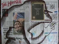 Ronald Rae, The Hacker, Artist, Crafts, Inspiration, Biblical Inspiration, Manualidades, Artists, Handmade Crafts, Diy Crafts, Craft