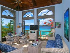 Gallows Point Premium Suite 8C is a spectacular 1BR, nestled ocean front on a 5-acre resort on the wonderful island of St. John, U. S. Virgin Islands. Gallows Point Suite 8C is truly a romantic get-away perfect for ...