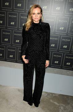 Diane Kruger in Balmain x H&M