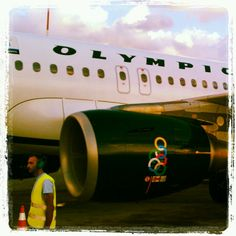Olympic Air A319 SX-OAF