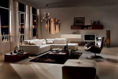 Modern sofa – Surround   Italian modern furniture from Natuzzi Italia