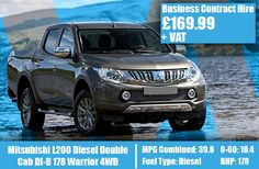 Mitsubishi Diesel Double Cab DI-D 178 Warrior Diesel, Mitsubishi L200, Model Supplies, Lease Deals, Vans, Motors, Diesel Fuel, Van, Motorbikes
