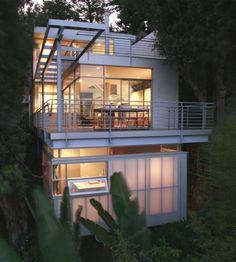 laurel canyon house ~ frishman architecture