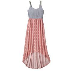 Xhilaration High Low Knit Maxi Dress