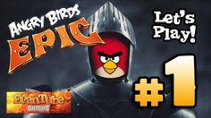 http://heysport.biz/index.html Let's Play ANGRY BIRDS EPIC!!! - Gameplay Part 1