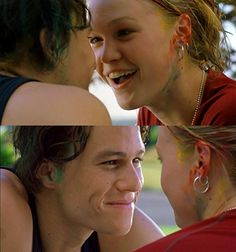 Heath and Julia Stiles in 10 Things I Hate About You