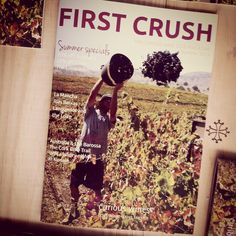 """Our Summer edition of """"First Crush"""" is out now. Some great reading in there. (Said the writer. First Crush, Summer Special, Marketing Program, Wines, Irish, Crushes, Reading, Irish Language, Reading Books"""