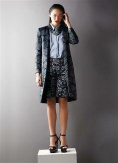Coat Effect Femina | Concept/ Stylist : Aulia Fitrisari, Anabella Siahaan. Photographer : Pricillia. Talent : Kelly Tandiono.