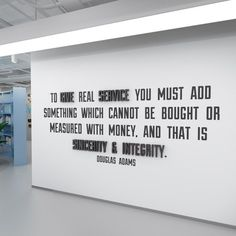 Quote To Give Real Service Inspirational Workplace Productivity Gift Wall Art Mindfulness Gift Decor Office Decor Apply this To Give Real Service office wall art in any flat surface (walls, windows, etc). If you are looking for a piece of art in your office walls Creativity office