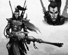 Dark Eldar: Dracon Alaktel by ~Beckjann on deviantART