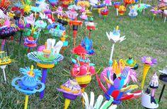 Jane Gillings – 'Disgarden' | Art in the Park: Cross-pollinations