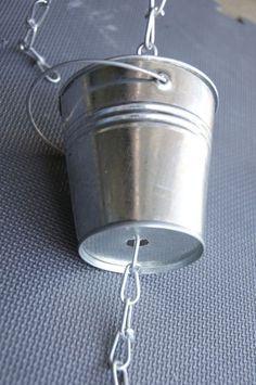 Make It! A Rain Chain #outdoor, #Curbly-Original, #rain_chain, #DIY