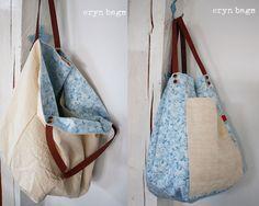 Bag No. 153 Vonkajšia časť je z pevného plátna. Vnútorná časť tašky je ušitá drahej americkej bavlny (preto aj tá zvýšená cena). Je tam našité otvorené plátené vrecko. Kožené rúčky sú dlhé 47 cm. Je obojstranná. Je veľmi pekná, odporúčam. Veľkosť:cca 56x56 cm