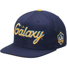 Mitchell   Ness LA Galaxy Special Script Snapback Hat - Navy -  29.99  Summer Accessories 07264b1439fb