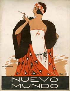 'Nuevo Mundo, 1923' by Advertising Archives on artflakes.com as poster or art print $17.33