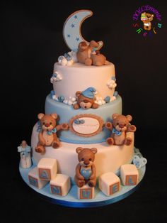 Sweet Baptism - Cake by Sheila Laura Gallo