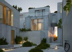 Wohnen am Strom, Wettbewerb 1.Preis   Michels Architekturbüro