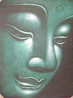 Balinese Tranquility Buddha Painting