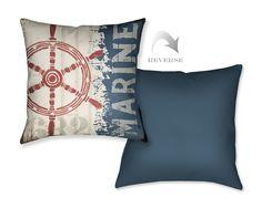 Nautical VI Throw Pillow