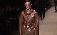 Semana de Moda de Milão - Outono/Inverno 2013. Burberry for men.