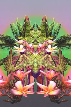 Summer Tropical Pastel Palms RePinned By: Live Wild Be Free www.livewildbefree.com Cruelty Free Lifestyle & Beauty Blog. Twitter & Instagram @livewild_befree Facebook http://facebook.com/livewildbefree