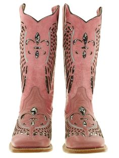 pink ladies cowboy boots