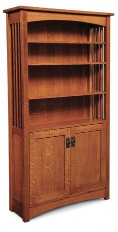 Bookcases Forceful Antique Bookcase In Solid Oak Circa 1900