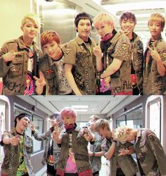 B.A.P, you're so funny~ <3