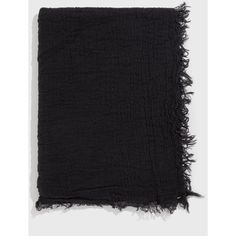 GREI Italian Woven Crinkle Scarf (€140) ❤ liked on Polyvore featuring accessories, scarves, woven scarves, lightweight shawl, braided scarves, crinkle scarves and lightweight scarves