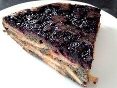 GÂTEAU ALCALIN POMMES MYRTILLES Psyllium, Sweet Desserts, Gluten, Healthy, Food, Rice Flour, Vegetarische Rezepte, Cooking Recipes, Healthy Recipes
