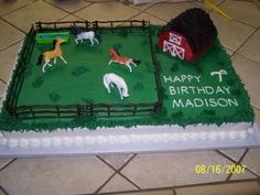 Horse Birthday Cakes for Boys | Traverse City,Michigan United States 634 Est 8th St. 49686)