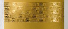 Golden Calendar by Yurko Gutsulyak, via Behance