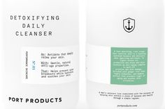 Port Products — The Dieline - Branding & Packaging Design