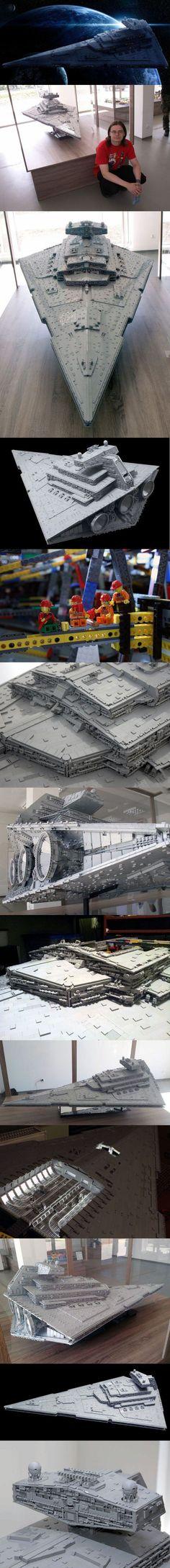 Amazing Lego Star Destroyer