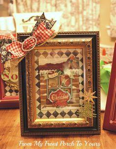"Crafty Texas Girls: Christmas in July- ""Frame Addiction"""