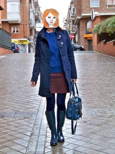 Trendtation.com : look-Ginger Collage