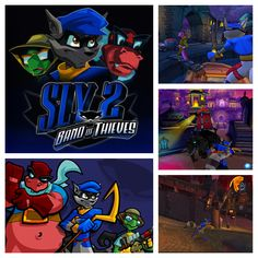 Sly 2: Band of Thieves (2004)