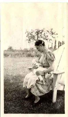 Adult breastfeeding in historu