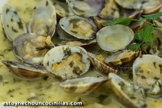Salsa Verde, Fresco, Fish And Seafood, Seafood Recipes, Finger Foods, Garlic, Bbq, Stuffed Mushrooms, Food And Drink