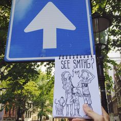 """Amusing """"Cartoon Bombing"""" Cleverly Interacts With Surroundings - My Modern Met"""