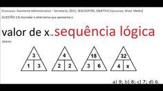 Curso Raciocínio Lógico Sequência números Teste Psicotécnico Detran Conc... https://youtu.be/YUCY7RMzZxA